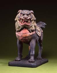 shishi statue buddhist guardian lion shishi the walters museum works
