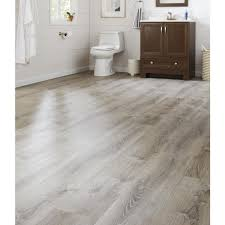 Laminate Or Vinyl Flooring 8 7 In X 47 6 In Sterling Oak Luxury Vinyl Plank Flooring 20 06
