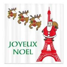 joyeux noel christmas cards joyeux noel eiffel tower christmas cards 20 pack w