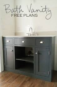 How To Build A Vanity Bathroom The Most Attractive Build A Vanity Regarding Household