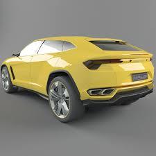 ferruccio lamborghini 2013 concept car 3d car lamborghini urus cgtrader