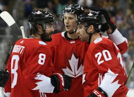team canada calm cool and collected no matter the task at hand