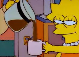 Simpsons Meme Generator - lisa simpson coffee that x shit blank template imgflip