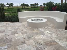 Patio Tile Flooring by Starting To Design Your Patio Stones Or Backyard Tile Flooring