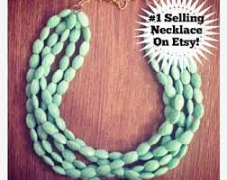 etsy beads necklace images Beaded necklaces etsy jpg