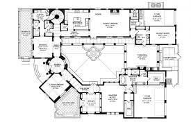 style home plans with courtyard terrific u shaped house plans with courtyard pool pictures best