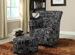 accent chair with ottoman accent chairs