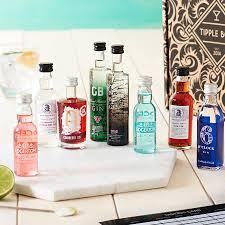 great british gin tasting set by tipple box notonthehighstreet com