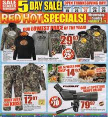 thanksgiving black friday deals bass pro shops black friday 2016 ad thanksgiving deals on
