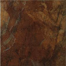 Tiles At Home Depot On Sale by Marazzi Imperial Slate 12 In X 12 In Rust Ceramic Floor And Wall