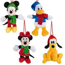disney mickey mouse plush ornament set disney