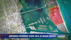 Google Maps Miami Beach by Growing Worries Over Zika After Outbreak Now Hits Miami Beach