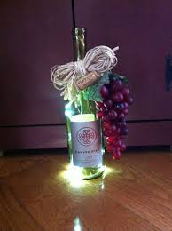 Wine Bottles With Lights Awesome Battery Operated Under Counter Kitchen Lights By Empty