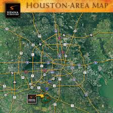 Downtown Houston Map Directions To Sienna Plantation In Missouri City Tx