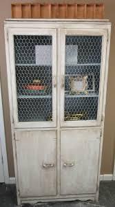 Chicken Wire Cabinet Doors Vintage Finds Chicken Wire Cabinet