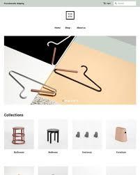 furniture u0026 interior design ecommerce website templates free and