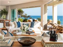 Celebrity Homes Interiors Cindy Crawford And Rande Gerber List Their Malibu Estate For 60m