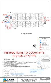 Fire Evacuation Plan Office by Fire Safety Plans U0026 Evacuation Plans U2013 Aztech