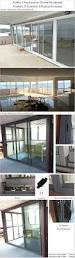 aluminium sliding door safety door design with grill ce office