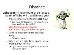 how far does light travel in a year images Astronomic distances solar system planets and other objects like jpg