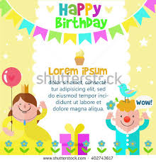 happy birthday card design template image stock vector 402743590