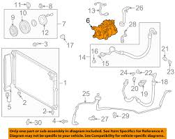 lexus is300 oem parts lexus toyota oem 01 05 is300 a c ac compressor 883202a05184 ebay