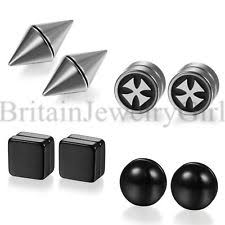 magnetic stud earrings magnetic earrings ebay