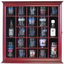 Glass Display Cabinet For Cafe New Hard Rock Cafe Shooter Shot Glass Display Case Rack