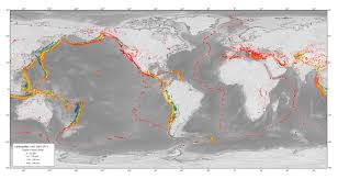 World Mountain Ranges Map by Plates Plate Boundaries And Driving Forces Earth Science