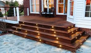 deck lighting led deck lighting as your inexpensive choice