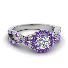 purple diamond engagement rings artistic purple engagement rings at reasonable price in