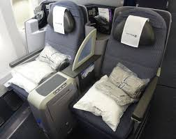 review united business class 777 200 frankfurt to houston one