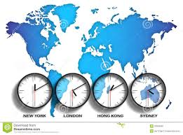 Oregon Time Zone Map by United States Timezone Map Royalty Free Stock Photo Image 4563565