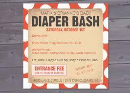 diaper bash baby shower invitation printable 12 00 via etsy