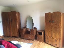 1940s bedroom furniture vintage 1930 1940 s solid wood bedroom furniture in tandragee