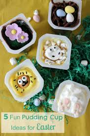 snack pack mix ins five fun pudding cup ideas for easter arts