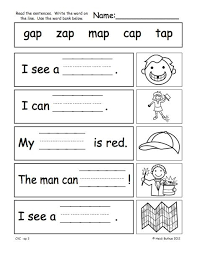 cvc worksheets kindergarten free worksheets library download and