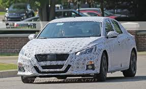 cars nissan altima 2019 nissan altima spy photo pictures photo gallery car and