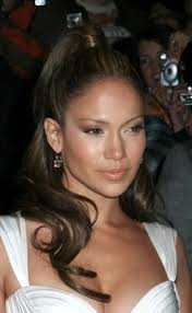 j lo ponytail hairstyles jennifer lopez hairstyles high ponytail with waves dot com women