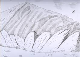 mountain sketch 1 by angelkoh11 on deviantart