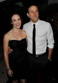 charlie hunnam and maggie siff photos photos premiere of fx