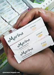 Bedak Marina ღ s eye ღ marina smooth glow uv two way cake