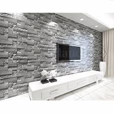 3d wallpaper bedroom living mural roll modern faux brick stone 3d wallpaper bedroom living mural roll modern faux brick stone wall background ebay