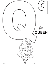 printables alphabet q coloring sheets download free printables