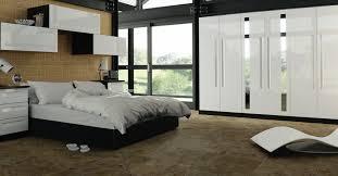 decorate white gloss bedroom furniture editeestrela design
