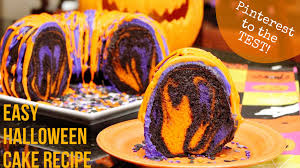 Chocolate Orange Halloween Cake Pinterest To The Test Easy Halloween Cake Recipe