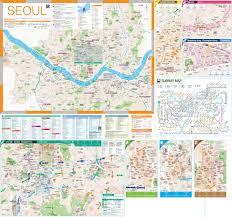 Map Of South Korea Seoul Maps South Korea Maps Of Seoul