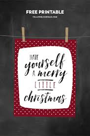 merry christmas modern have yourself a merry little christmas free printable