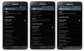 check android version galaxy note 3 stock firmware galaxynote3update