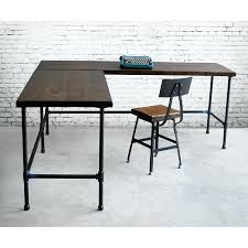 articles with wood l shaped computer desk tag enchanting oak l
